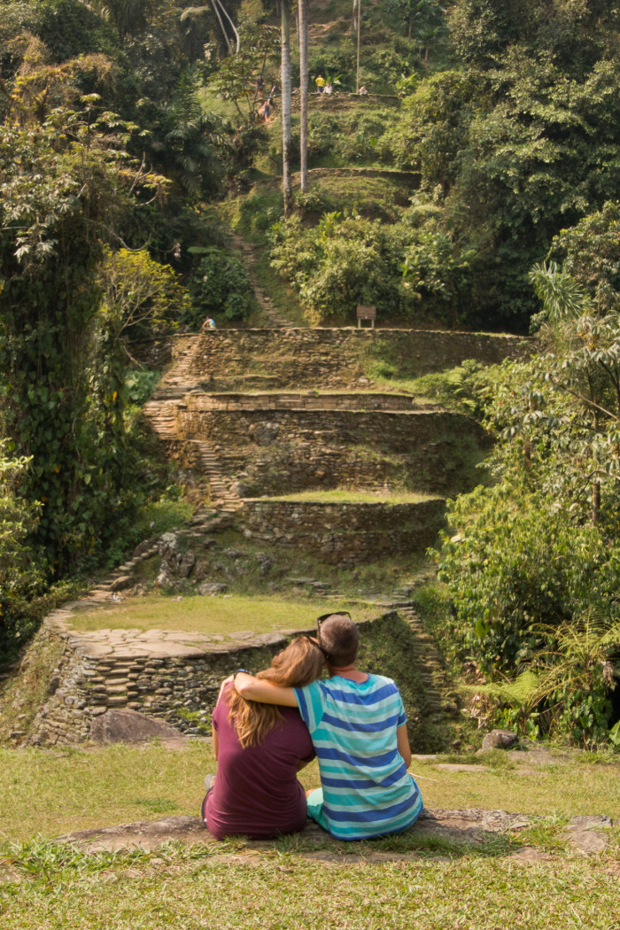 Lost City hike, Colombia