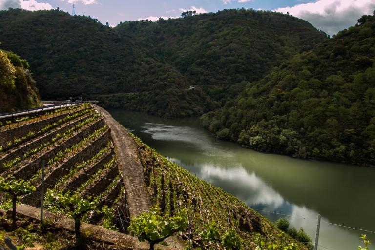 Canon del Sil, Galicia, Spain