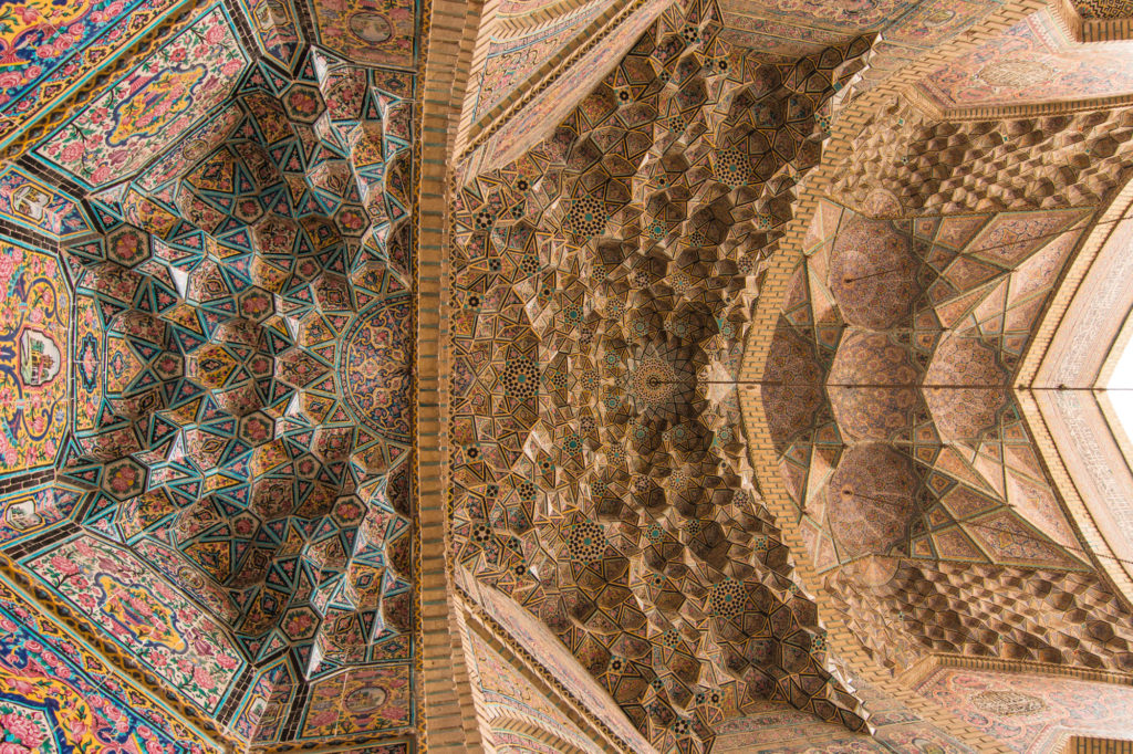 The Pink Mosque, Shiraz, Iran