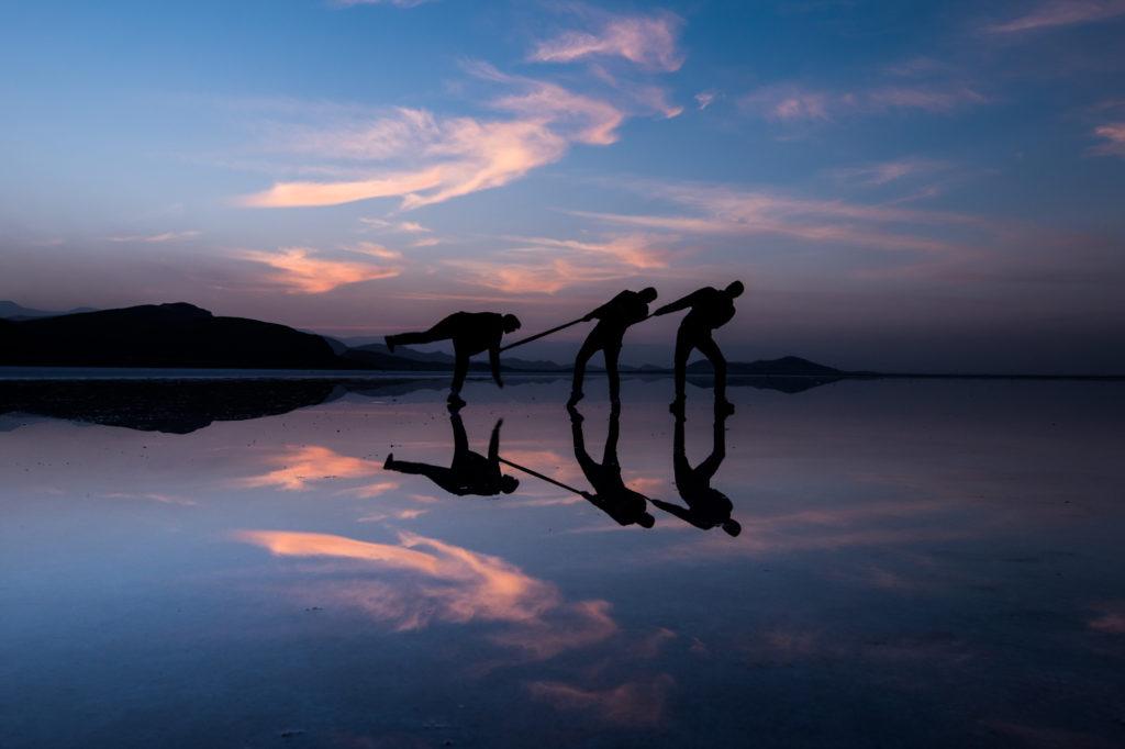 Maharloo Lake, Iran