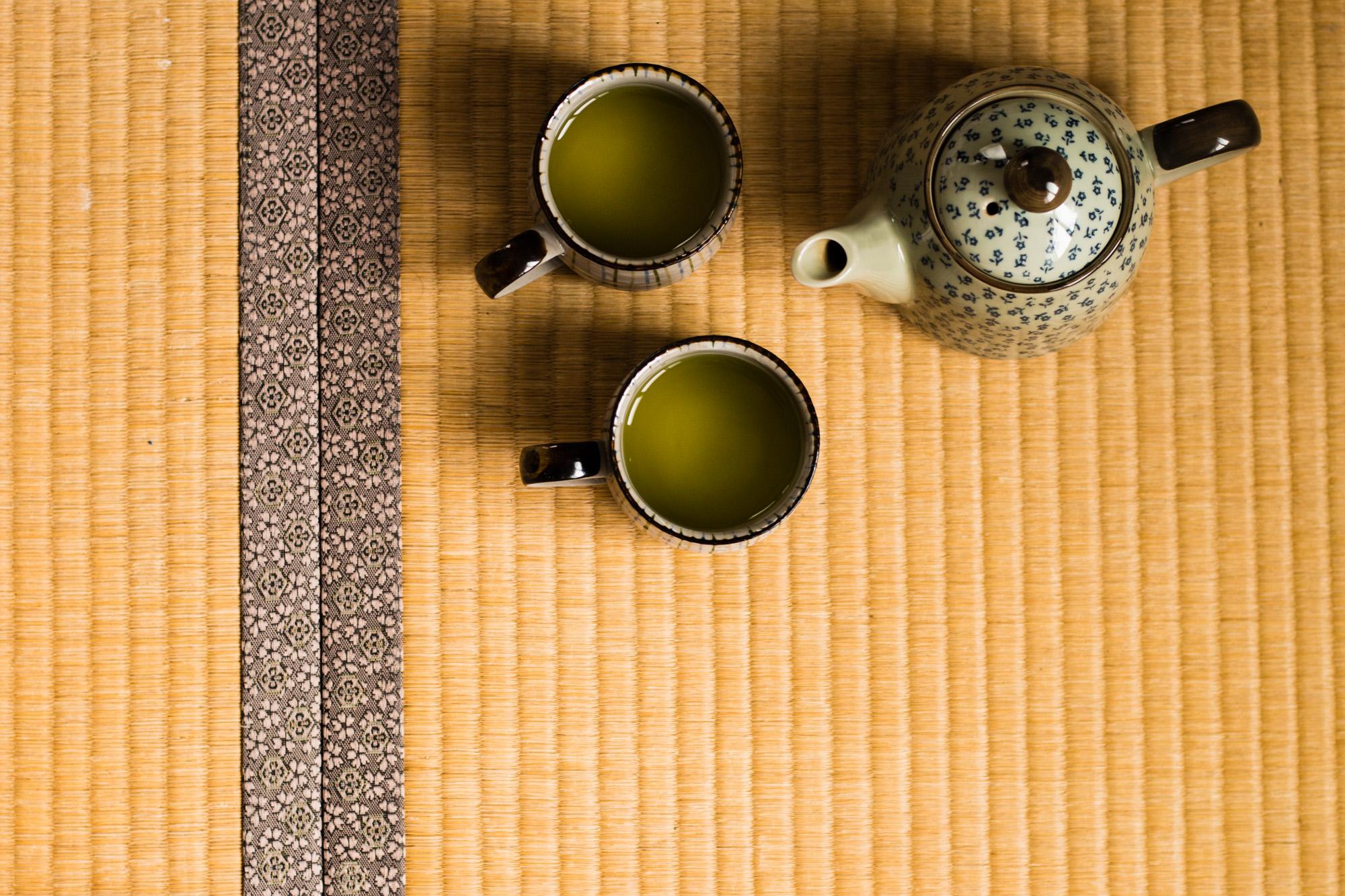 Green tea, Japan
