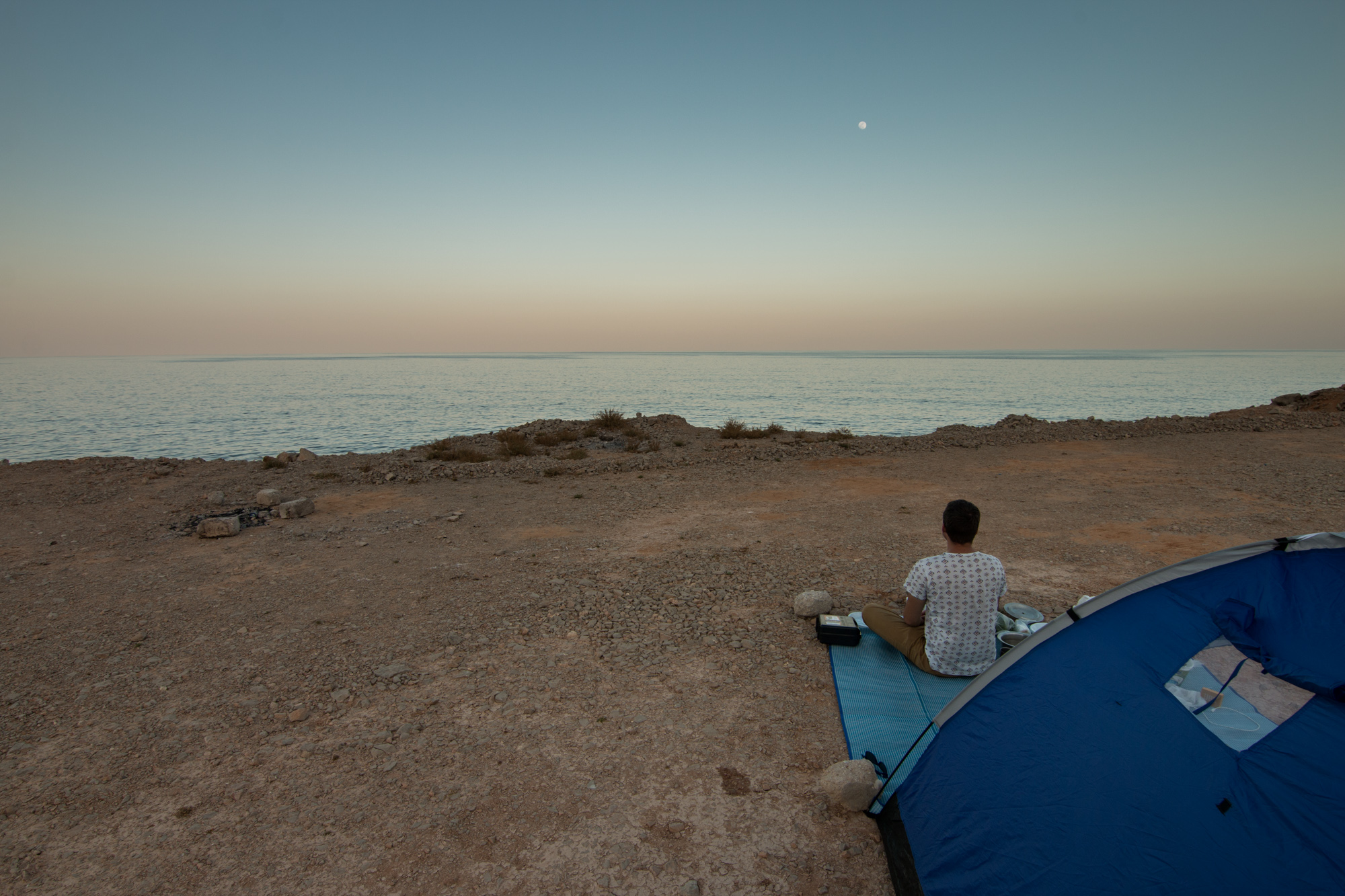 Camping, Oman