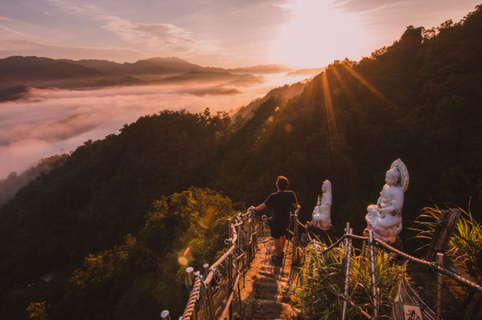 Views from Xiaozi Mountain, Pingxi, Taiwan