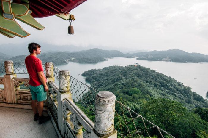 Cien Pagoda, Sun Moon Lake, Taiwan