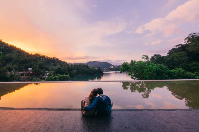 Xiangshan Visitors Center, Sun Moon Lake, Taiwan