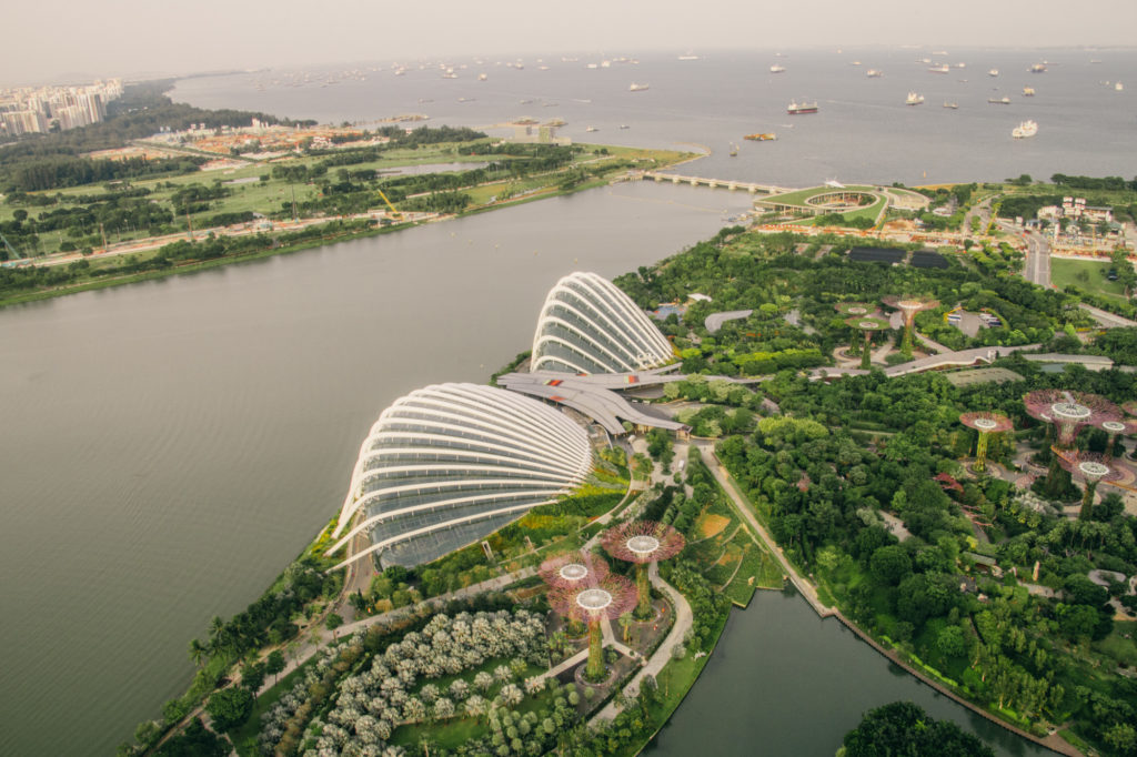 Views from Marina Bay Sands, Singapore