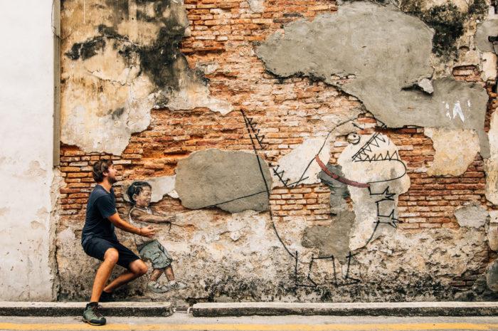 Street art, Georgetown, Malaysia