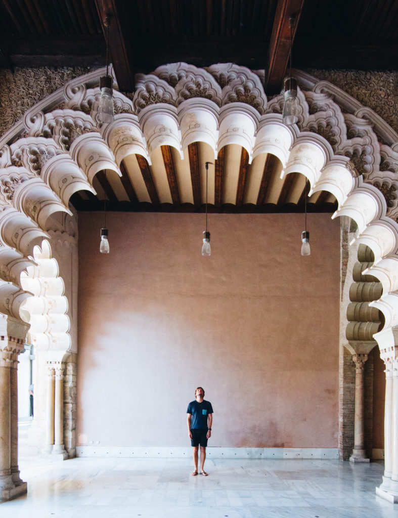 Aljaferia Palace, Zaragoza, Spain