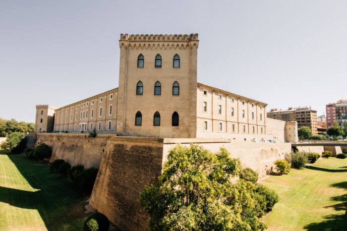 Aljaferia Palace, Zaragoza, Spain