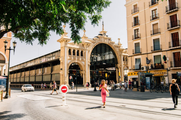 Central Market, Zaragoza, Spain