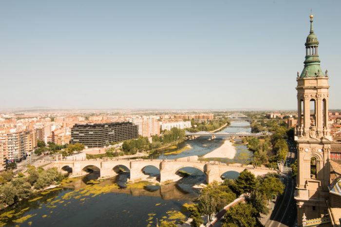 Ascensor del Pilar, Zaragoza, Spain