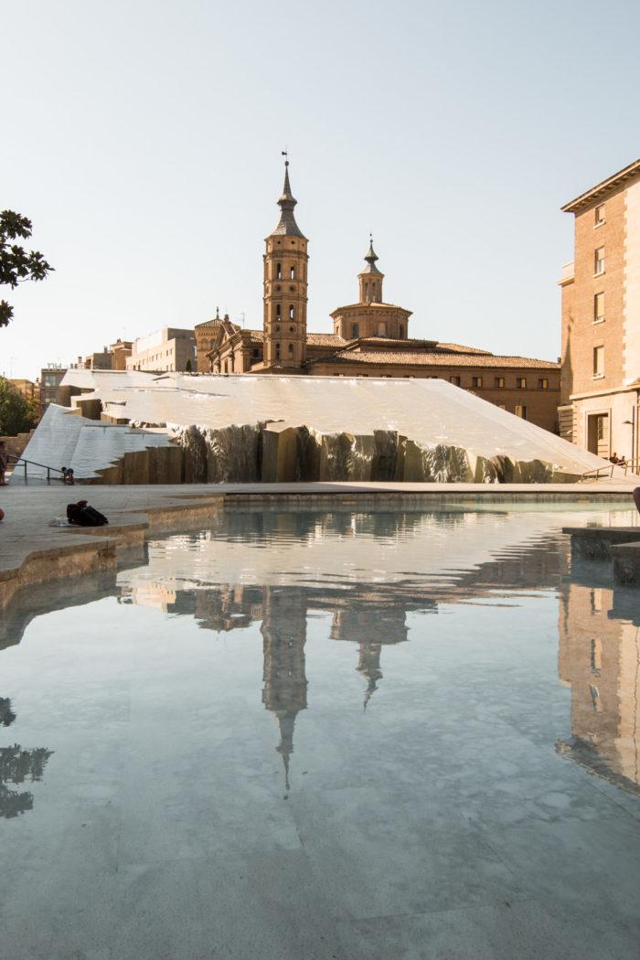 The main square, Zaragoza, Spain
