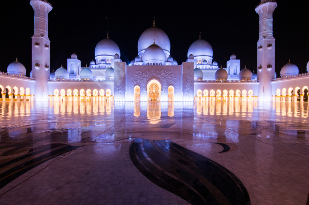 sheikh zayed mosque, UAE
