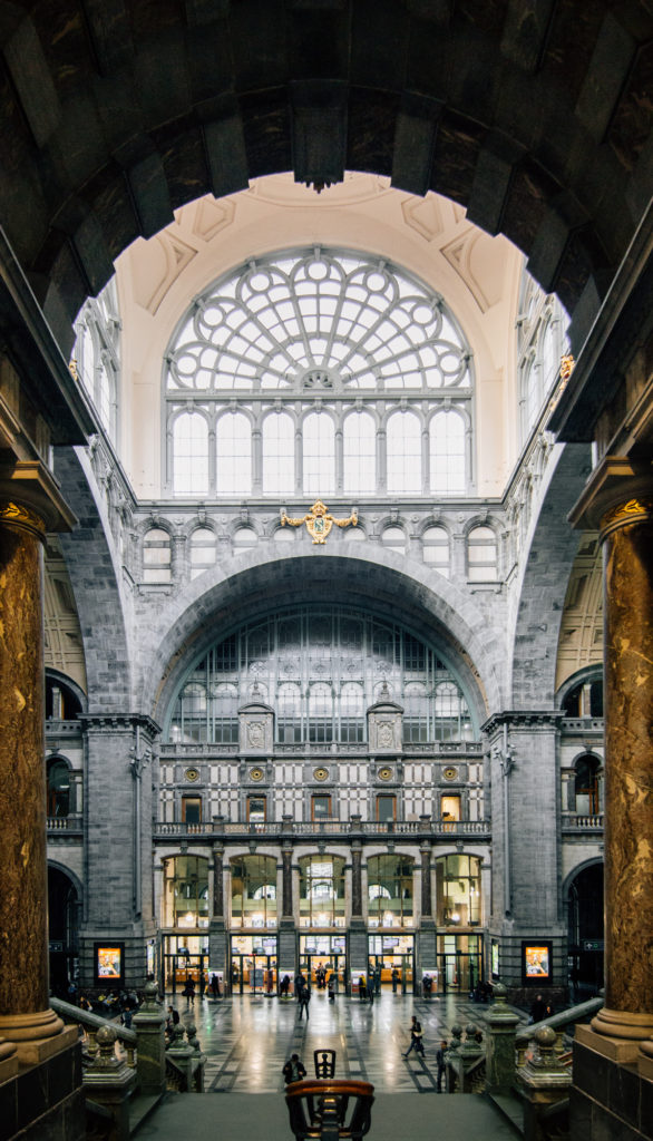 Central station, Antwerp, Belgium