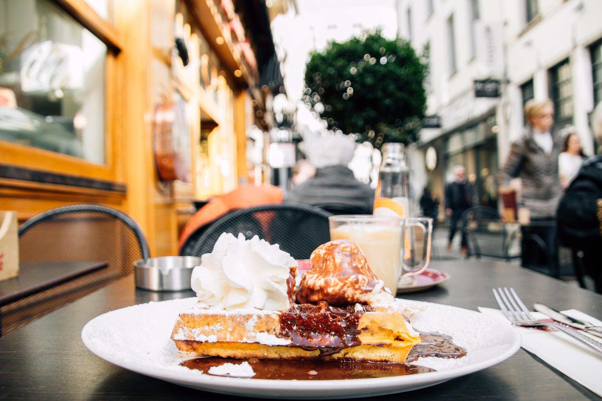 Belgium waffle, Antwerp, Belgium
