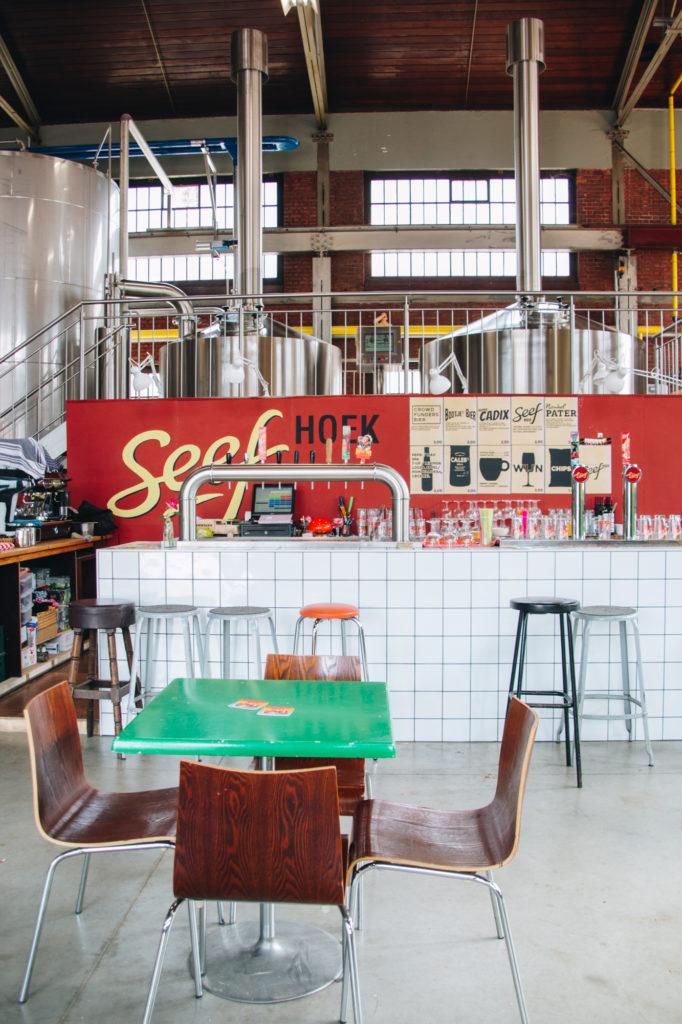 Seef brewary, Antwerp, Belgium
