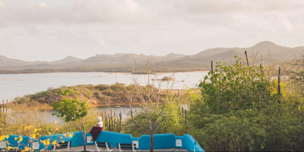 Goto Lake view point, Bonaire